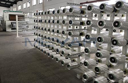 PE/芳纶无纬布连续生产线